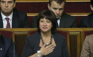 Natalie Jarensko, la toute nouvelle ministre des Finances ukrainienne