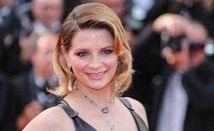 L'actrice Mischa Barton au Festival de Cannes
