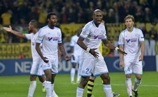 Les joueurs de Marseille n'ont rien pu faire lors de la défaite face à Dortmund (3-0) en Ligue des champions, le 1er octobre 2013.