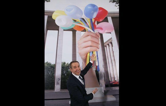 Paris: Le bouquet de tulipes de l'artiste Jeff Koons sera finalement devant le Petit Palais