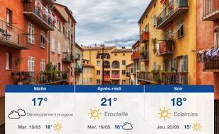 Météo Nice: Prévisions du lundi 17 mai 2021
