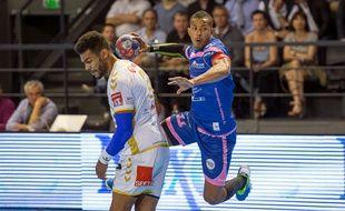 Sylvain Hochet (en bleu) et les Irréductibles cessonnais auront «montré de belles choses» durant la saison 2014-2015.