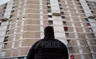 Illustration de la police dans les quartiers Nord de Marseille