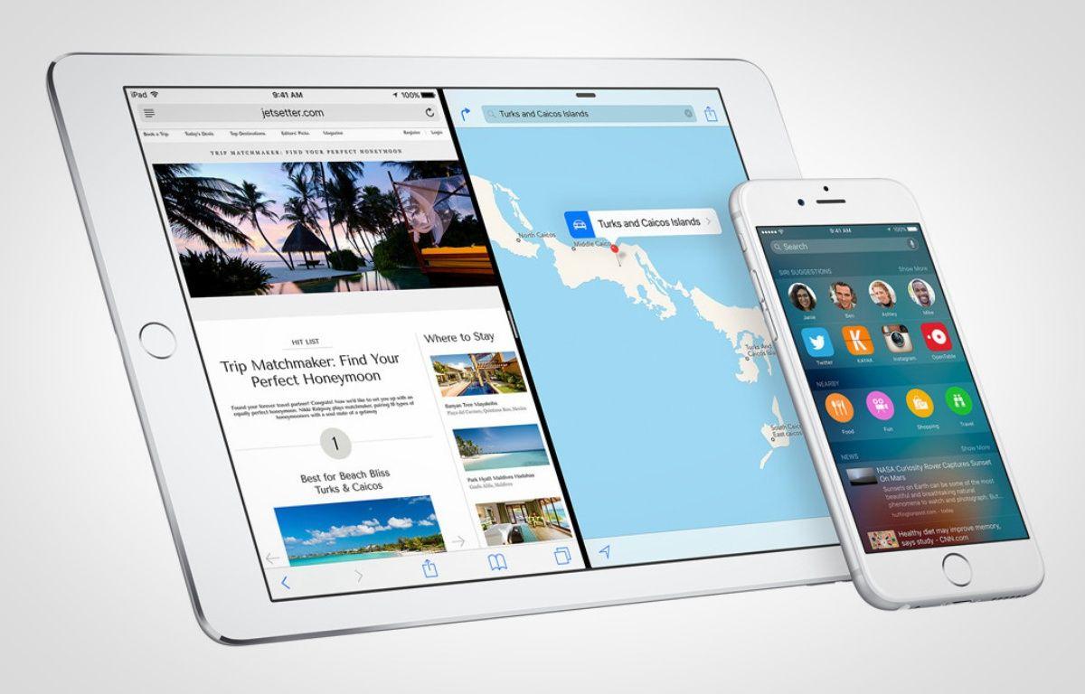 iOS 9 est disponible depuis le 16 septembre 2015. – APPLE