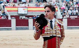 Le torero espagnol Gonzalo Caballero, 27 ans.