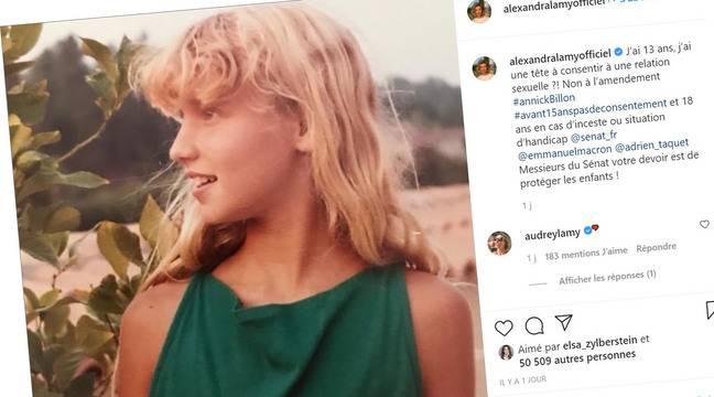 #Avant15anscestnon: Des stars demandent que l'âge du consentement soit fixé à 15 ans et non 13