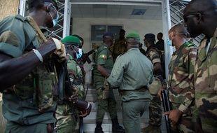 Lors de leur coup d'Etat mardi, les militaires ont arrêté le président Keïta qu'ils ont emmené dans le camp militaire de Kati