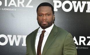 Le rappeur et acteur 50 Cent