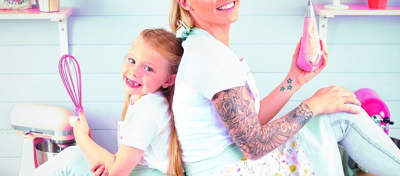 Roxane et sa fille Louane