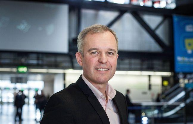 Francois de Rugy, candidat de la primaire de la gauche, le 23 novembre 2016 à la Cité des sciences et de l'industrie à Paris