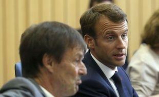 Hulot et Macron