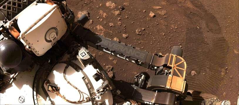 Le rover Perseverance a fait sa première virée sur Mars. Sur quelques mètres...