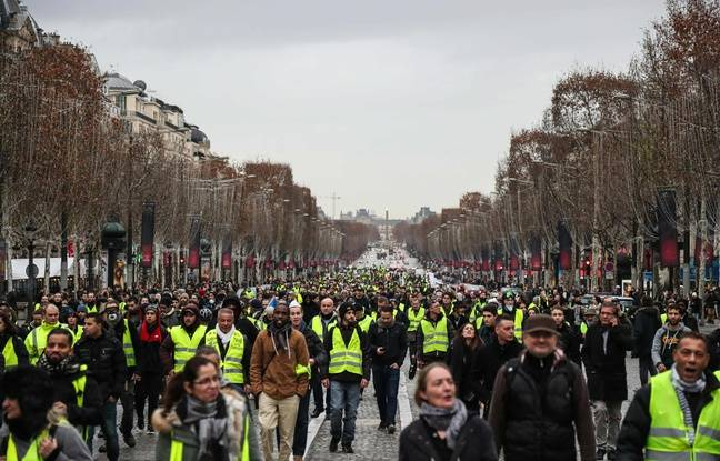 «Gilets jaunes»: Tensions à Paris et à Bordeaux, blocages, mobilisation en baisse... Le point sur l'acte 6