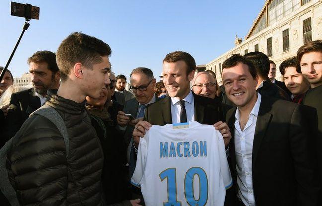 VIDEO. «Grand débat national»: Un jeune chambre Emmanuel Macron sur l'OM
