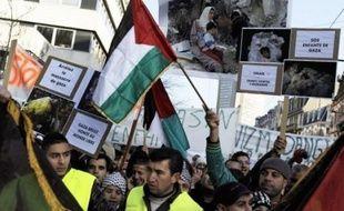 Plusieurs manifestations ont eu lieu en France samedi après-midi contre l'intervention israélienne à Gaza