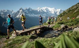 Ici dans son édition 2019, le Marathon du Mont-Blanc n'avait pas pu avoir lieu l'an passé.