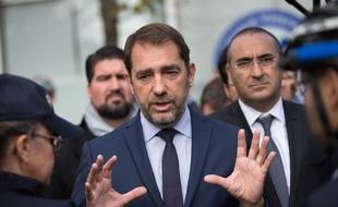 Le ministre de l'Intérieur Christophe Castaner et son secrétaire d'Etat Laurent Nunez, le 25 octobre 2018.