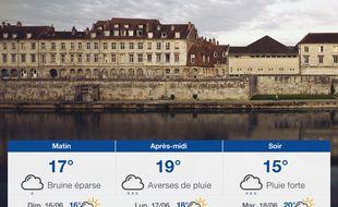 Météo Besançon: Prévisions du samedi 15 juin 2019