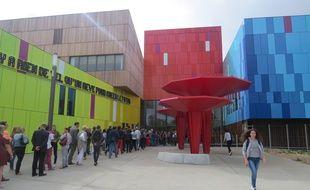 Le nouveau lycée de Carquefou
