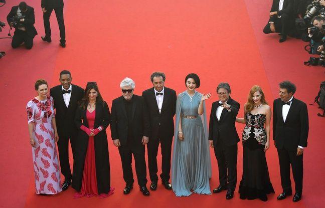 Le jury du 70e Festival de Cannes, avant la cérémonie d'ouverture, le 17 mai 2017.
