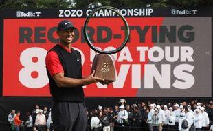 Tiger Woods a remporté son 82e titre sur le circuit PGA lors du Zozo Championship.
