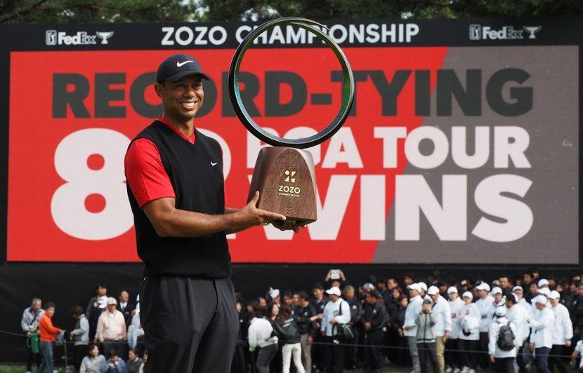 Record : Tiger Woods rejoint Sam Snead au sommet avec un 82e trophée