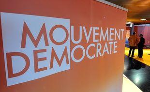 Le logo du Mouvement démocrate (image d'illustration).