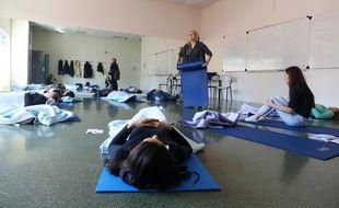 Des séances de gestion des émotions sont organisées par l'université de Nice pour combattre le stress des partiels.