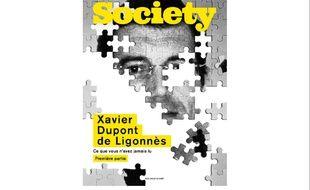 La couverture du numéro spécial de «Society»