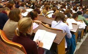 Des étudiants de la faculté de droit de La Couronne, en Charente. (Illustration)