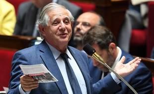 Jacques Mézard, ministre français de la Cohésion des territoires, le 23 mai à l'Assemblée.