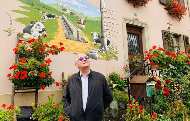Patrick Althusser, maire de Muhlbach-sur Munster (Haut-Rhin), le 6 octobre 2020.