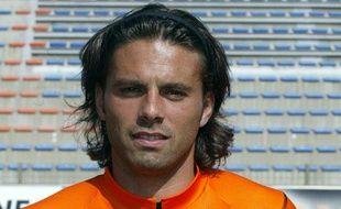 L'ancien footballeur Fabrice Fiorèse lorsqu'il jouait à Lorient, en septembre 2006.