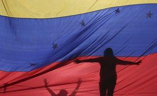 Des manifestants anti-Maduro à Caracas au Venezuela.