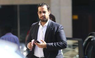 Alexandre Benalla à Paris, le 11 septembre 2018.