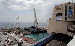 Le chantier, le 9 juillet 2019