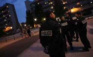 Illustration d'une patrouille de la police nationale. Crédit: Alexandre Gelebart/20 Minutes