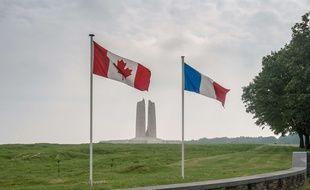 Le mémorial Canadien de Vimy, dans le Pas-de-Calais.