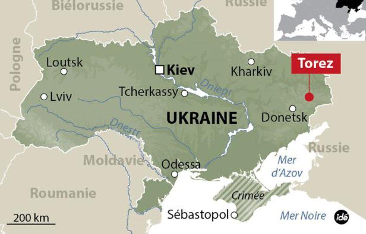 Un avion de Malaysian Airlines s'écrase en Ukraine, le 17 juillet 2014. – IDE