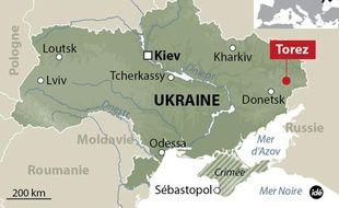 Un avion de Malaysian Airlines s'écrase en Ukraine, le 17 juillet 2014.