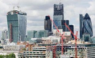 Le nouveau district financier de Londres