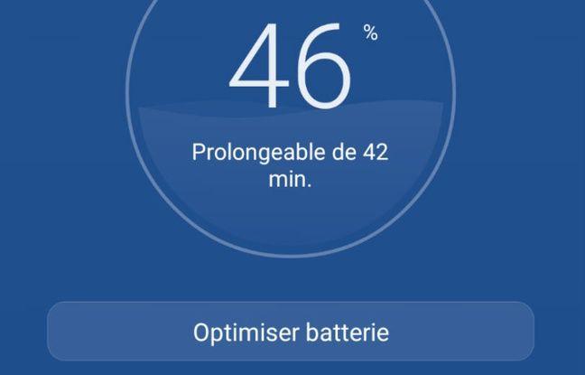 Chez Huawei, il est possible à tout moment de prolonger l'autonomie de sa batterie.