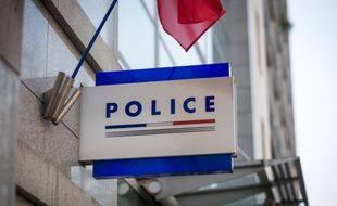 Illustration d'un commissariat de police.