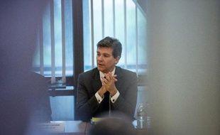 Le ministre de l'Economie, Arnaud Montebourg, le 21 mai 2014 à Paris