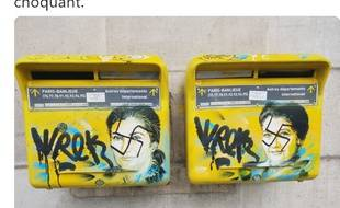 Les boîtes aux lettres de la mairie du 13e arrondissement