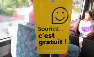 Voilà comment les composteurs vous accueillent désormais dans les bus de l'agglomération dunkerquoise