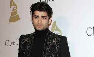 Zayn Malik à la soirée pré-Grammy organisée par Clive Davis