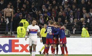 Lyon a été éliminé par le CSKA Moscou en 8e de finale de Ligue Europa, le 15 mars 2018.