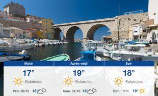 Météo Marseille: Prévisions du jeudi 29 octobre 2020