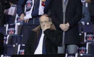 Noël Le Graët, président de la Fédération française de football (FFF), lors d'un match au Parc des Princes. (Illustration)